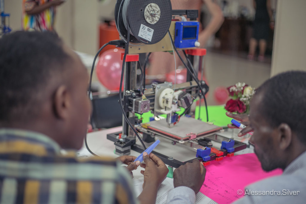 3D printing in Africa, 3D printing at home.
